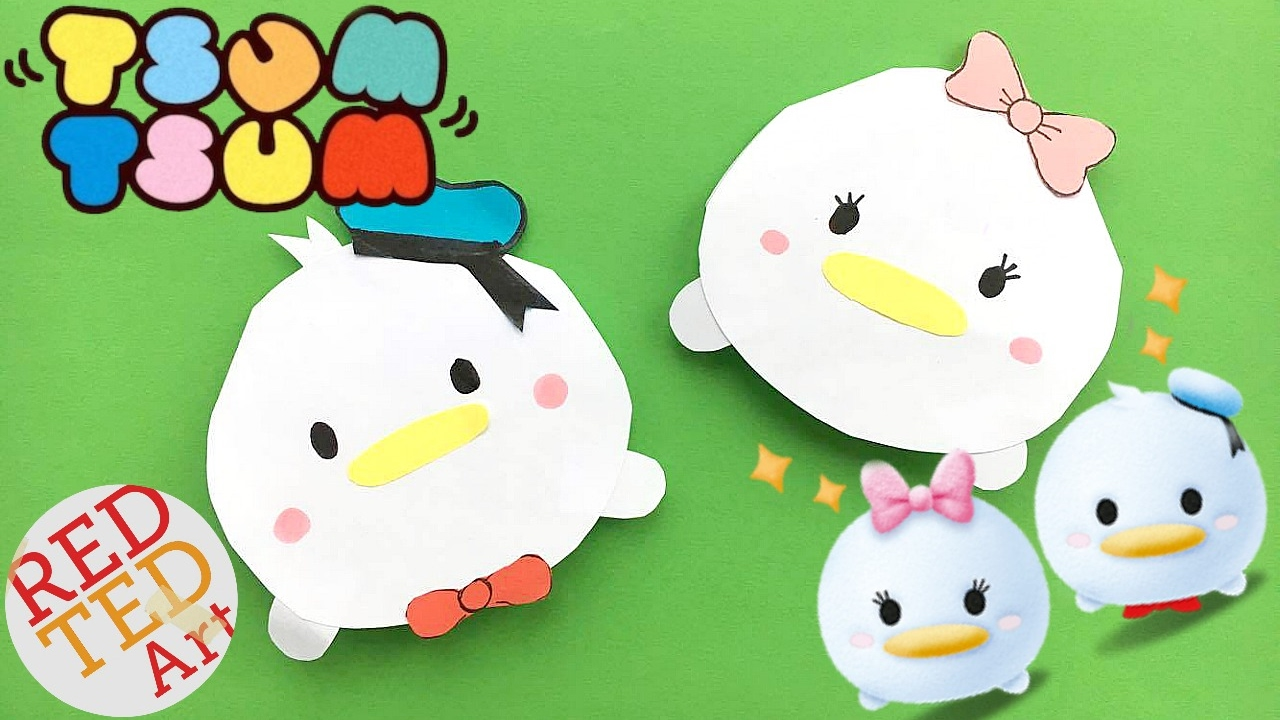 Tsum Bookmark DIY