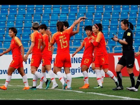 China PR 3-1 Thailand (AFC Women's Asian Cup 2018: 3rd/4th Place Playoff)