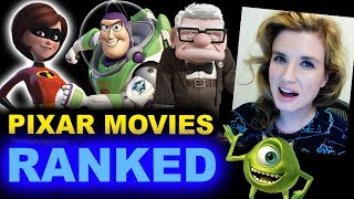 Pixar Movies Ranked - Worst to Best!