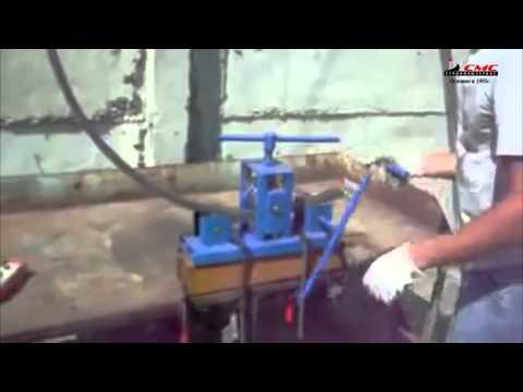 Трубогиб ручной для профильной трубы ТР 01