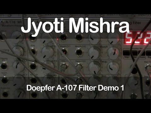 Doepfer A-107 Filter Demo 1