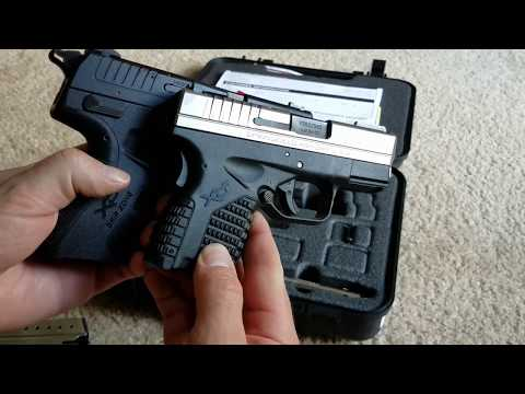 The new Springfield XDE 9mm.
