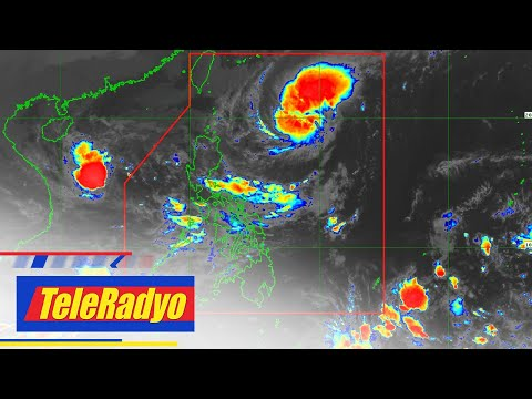 Storm signal no. 1 up in parts of northern Luzon due to 'Siony' | TeleRadyo