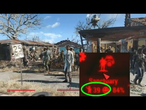 Fallout 4 - How to get a Settlement with 38+ population - Maximum Population?