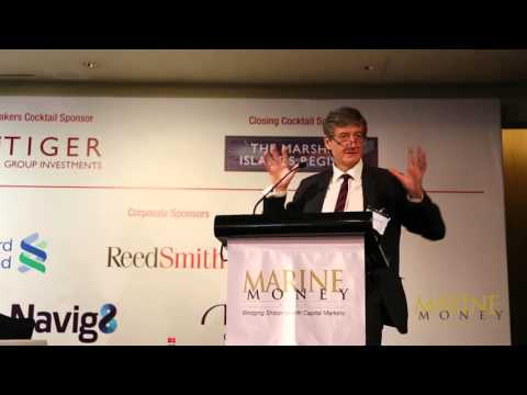 J. B. Rae-Smith, Welcome Address – 9th Annual Marine Money Hong Kong Ship Finance Forum