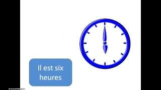 Kellonajat ranskaksi
