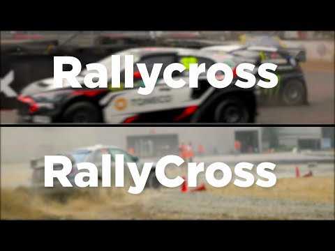 Rallycross VS RallyCross - What's the difference?