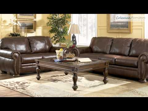 Palmer Walnut Living Room Furniture From Millennium By