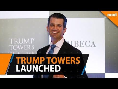 Donald Trump Jr launches Trump Towers Pune