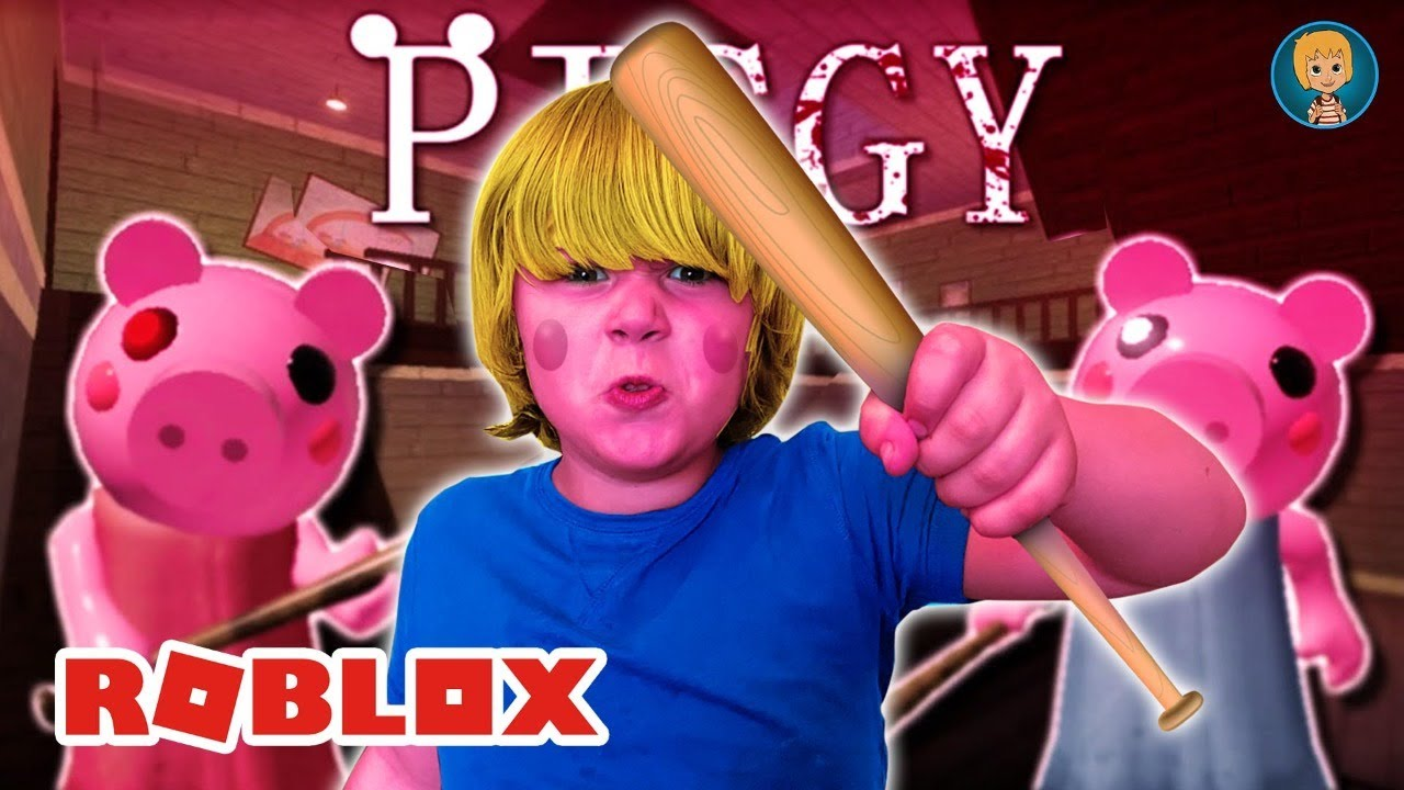 ROBLOX - Trying to escape from Piggy in 10 Minutes (Gerti Gaming)