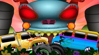 Haunted House Monster Truck : Hide And Seek | Kids Shows | Cartoon Videos For Children