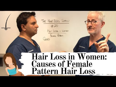 Causes Of Female Pattern Hair Loss