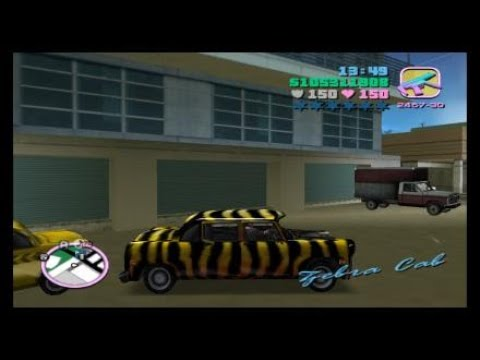 gta vice city k taxi mission