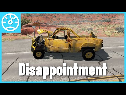 BeamNG.Drive - The Disappointment - Utah (Remaster)
