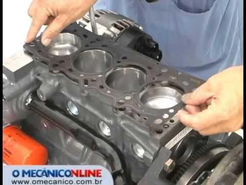 Troca da junta do motor Fiat Fire 1.4 L Flex