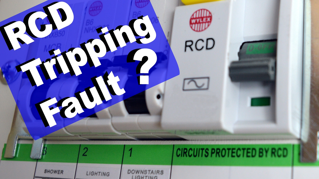 medium resolution of rcd tripping how to restore power