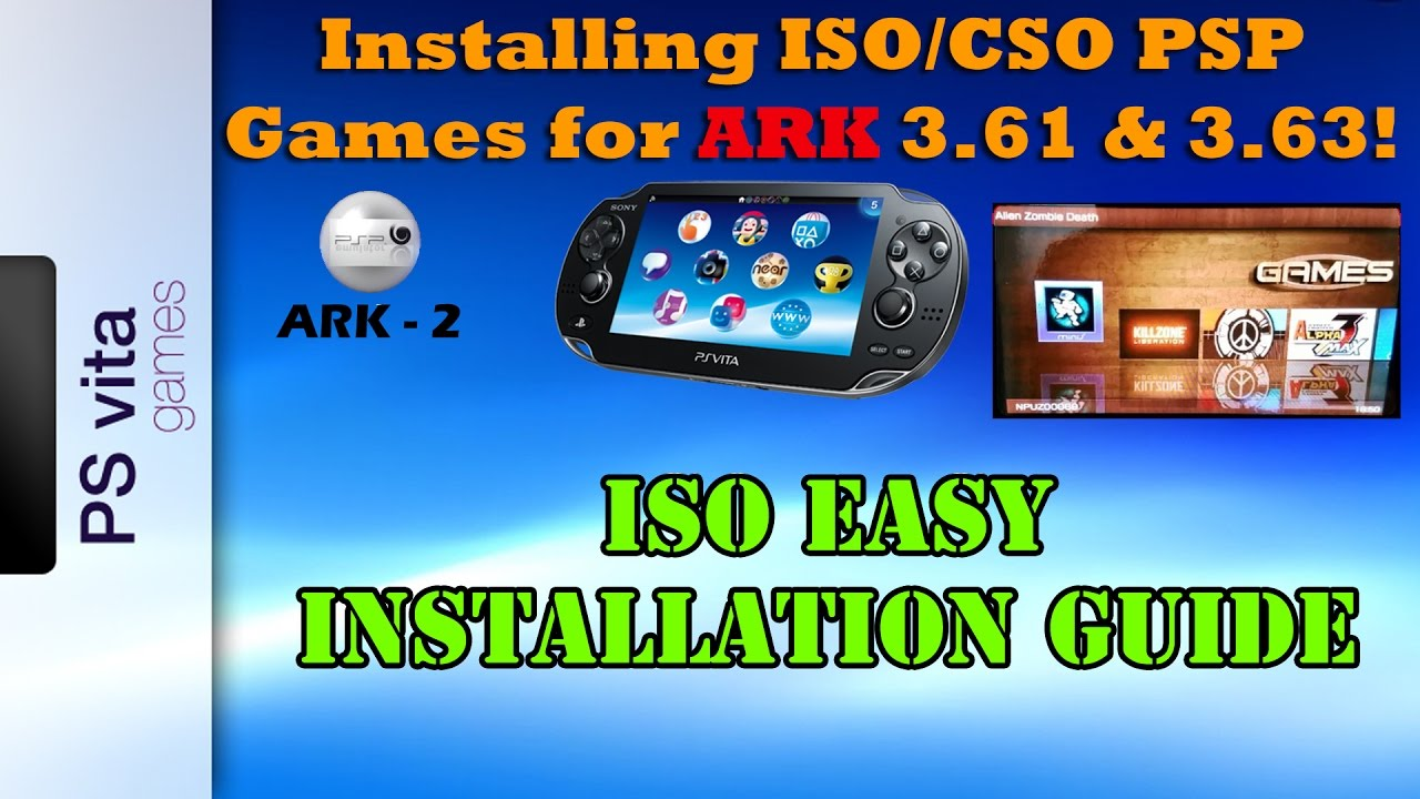 Cso psp | how to run downloaded games on a psp 2018-08-28.