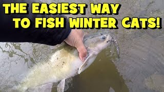 The EASIEST WAY to Catch CATFISH in the WINTER!