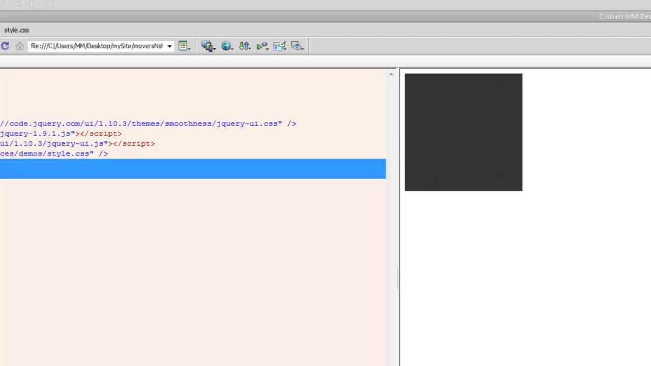 Make Your Divs Draggable and Resizable using JQuery UI