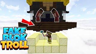 FAKE BLOK TROLL Minecraft Bed Wars