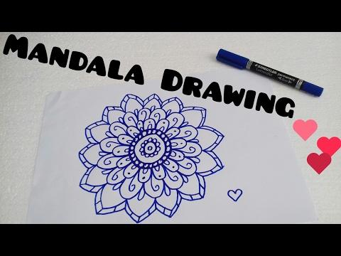 Como Hacer Mandalas Con Luna How To Draw Mandalas With Moon
