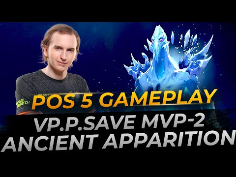 Save- plays Ancient Apparition | Full Gameplay Dota 2 Replay