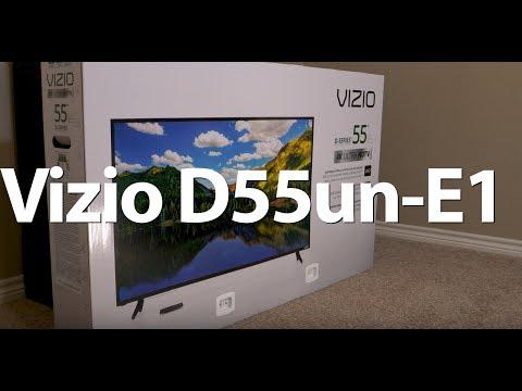 Vizio D55 Unbox and Review