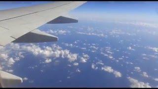 И снова о моем путешествии. Прекрасный вид из окна самолета. In flight.