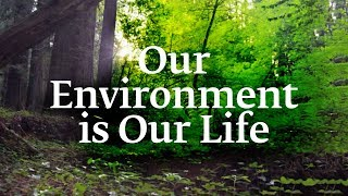 Our Environment is Our Life | Sadhguru