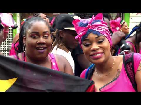 #Antigua & #Barbuda #Carnival #Jouvert Crowd 2018