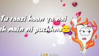 It's all about you👳♀️Punjabi song ll Sidhu moose wala ll 😍😎👨🎤