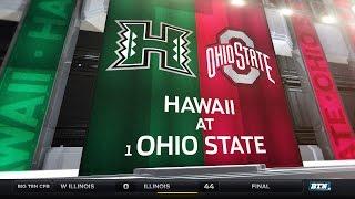 Hawaii at Ohio State - Football Highlights