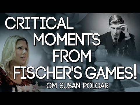The Art 🎨 of ATTACK🗡: Everything You Need to Learn From BOBBY FISCHER! - GM SUSAN POLGAR