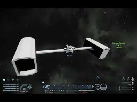Spin Gravity Experiment - Space Engineers