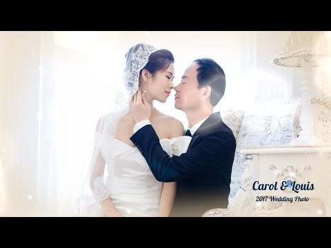 [4K] Carol & Louis Wedding Photo Part.4 (Christian Wedding Song - I Do Love You)