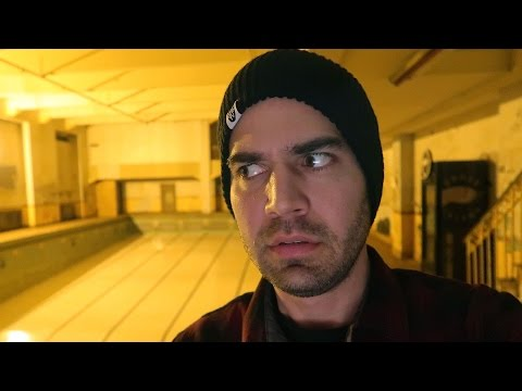 EXPLORING HAUNTED ABANDONED UNDERGROUND POOL (12.14.16 - Day 2785)