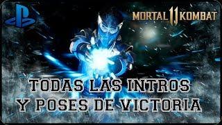 Mortal Kombat 11 | Todas las intros y poses de Victoria | Español Latino 1080P