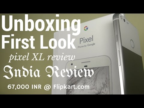 Hindi | Google Pixel XL India Unboxing & First Look Review Android 7.1 | Sharmaji Technical
