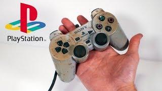 Restoring the original DualShock for my restored PlayStation 1 – Retro Console Restoration & Repair
