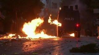 Ankara ve İstanbul'da gece çatışmaları - BBC TÜRKÇE