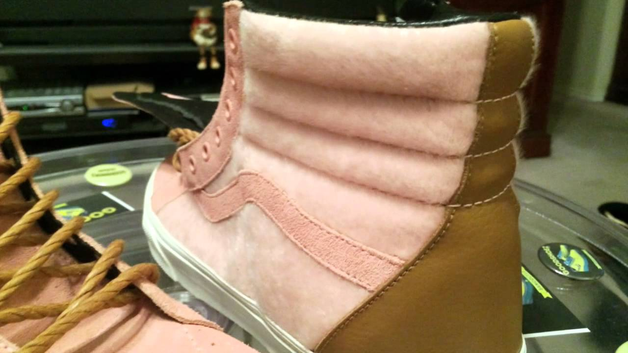 31621c874f  Vans 66 VANS Year of the Horse Pack - Sk8-Hi Reissue - Blossom (Pink)    Pony Hair colorway - 1-9-14 - YouTube