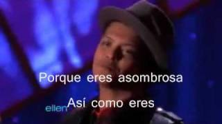 Bruno Mars Just The Way You Are En Español