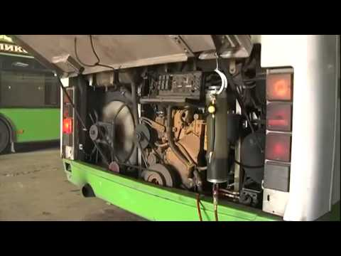 Обслуживание автобуса по технологиям BG