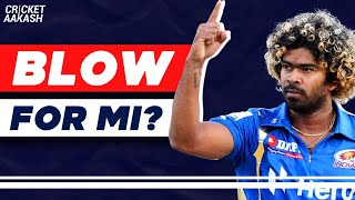 MALINGA to miss IPL matches - big BLOW for MI?   Cricket Aakash   IPL 2020 News