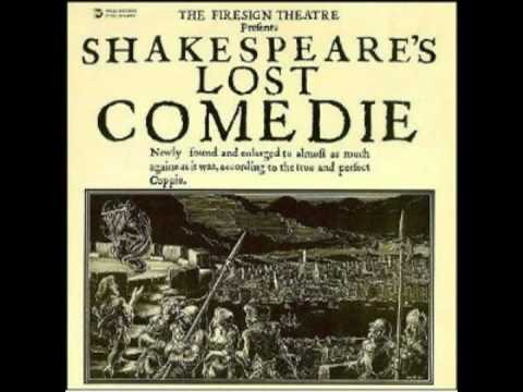 Firesign Theatre - Anythynge You Want To: Shakespeare's Lost Comedie