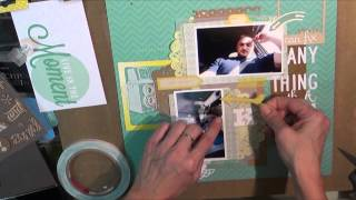 Scrapbook Process 29: Fix Anything With a Kiss