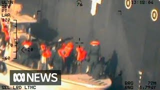 US releases new images of tanker attack it blames on Iran | ABC News