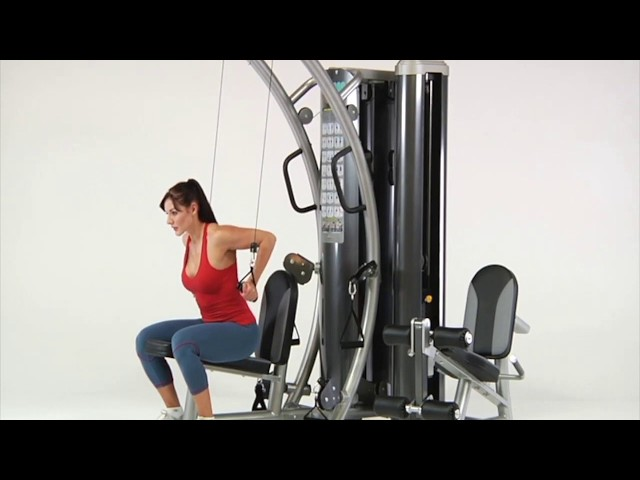 Triceps Exercises | HTX-2000 Functional Trainer | TuffStuff Fitness
