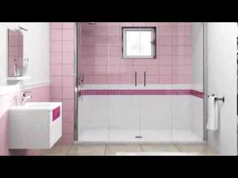 video d 39 installation douche pour senior seniority www. Black Bedroom Furniture Sets. Home Design Ideas