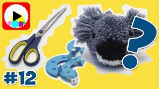 Помпон Коала - Как сделать помпон игрушку - Оригинальные помпоны своими руками